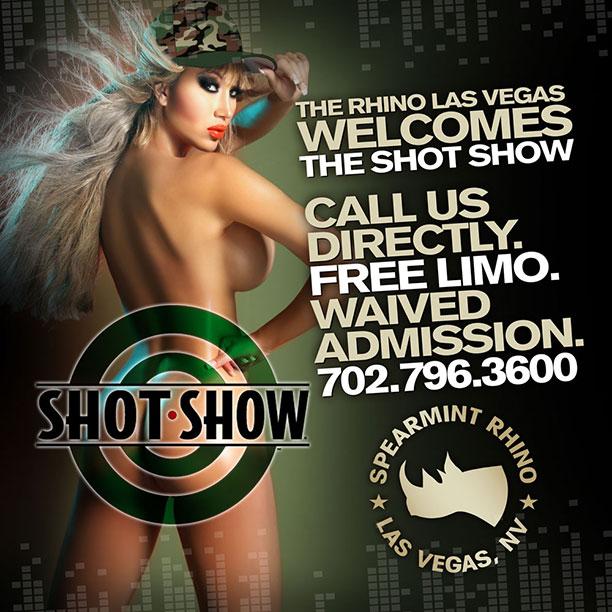 shot show las vegas spearmint rhino