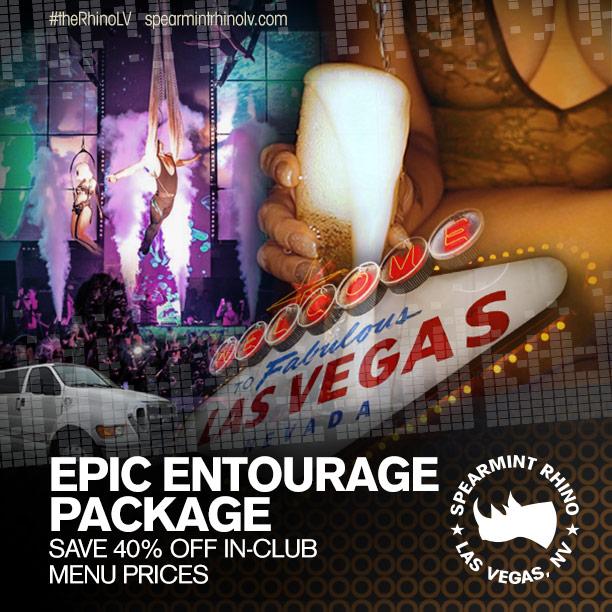 epic entourage package vegas