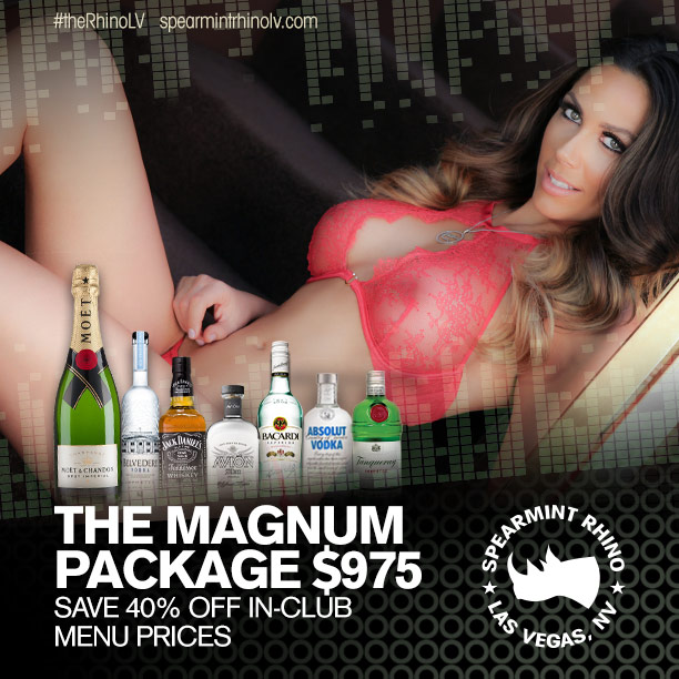 spearmint rhino las vegas bottle packages