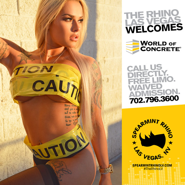 world of concrete spearmint rhino las vegas