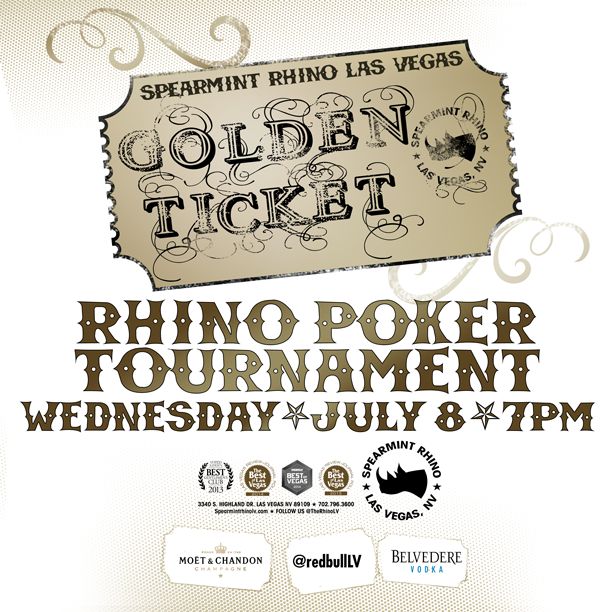 RHINO POKER TOURNAMENT Spearmint Rhino Las Vegas Gentlemen's Club