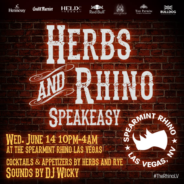 herbs and rye and spearmint rhino las vegas